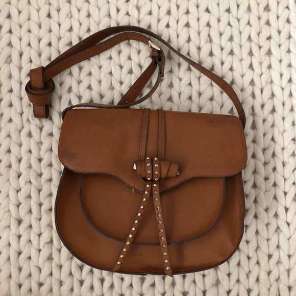 Steve Madden Handbags - Steve Madden Bbianca Saddle Flap Bag